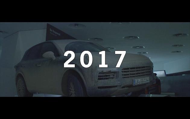 【ビデオ】ポルシェ、8月29日に発表する新型「カイエン」のスケッチとティーザー映像を公開
