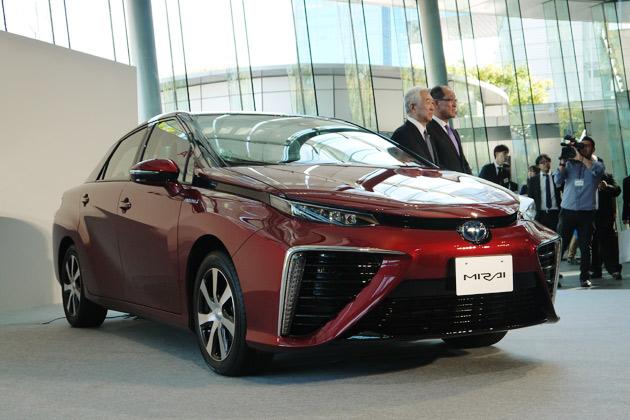 トヨタの新型燃料電池自動車「MIRAI(ミライ)」発表会場からリポート!(後編)