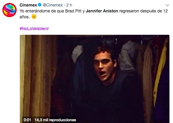¿Por qué estamos obsesionad@s con que Jennifer Aniston y Brad Pitt estén