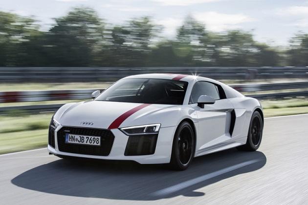 アウディの新型「R8 RWS」は、約1,500万円という魅力的なお買い得価格に(ただし米国の場合)