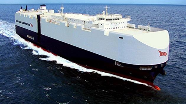 VW、2019年にLNG貨物船による自動車の海上輸送を開始