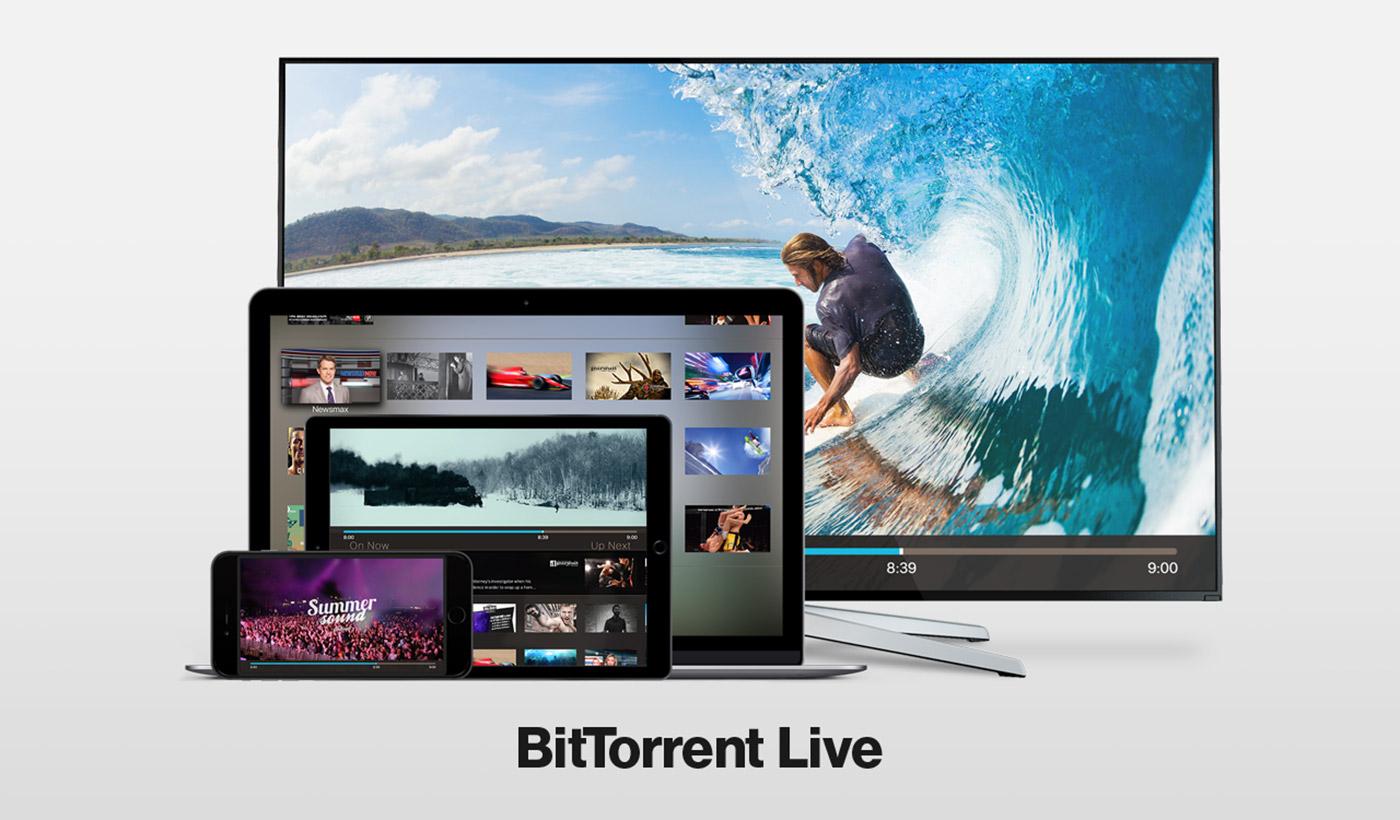 BitTorrent Live 串流视频直播平台正式推出,观众愈多画质愈高