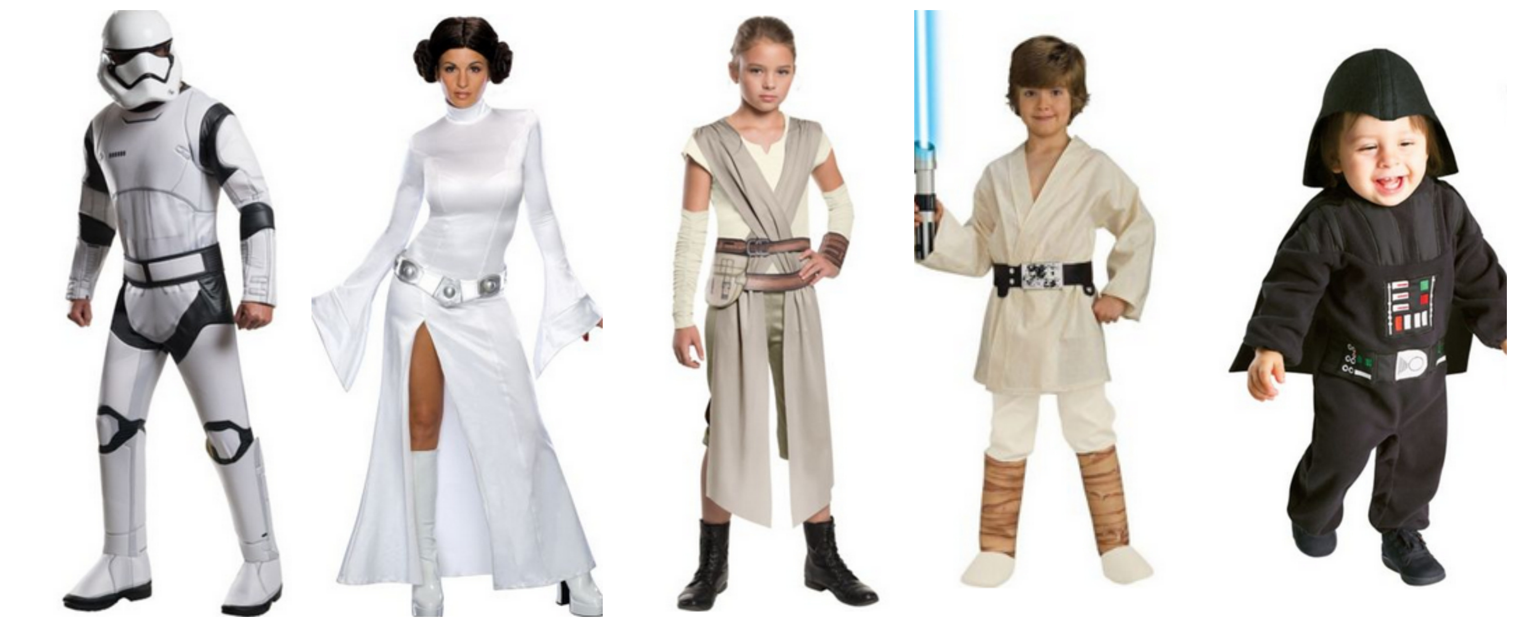 Star Wars Family Halloween Costume Ideas