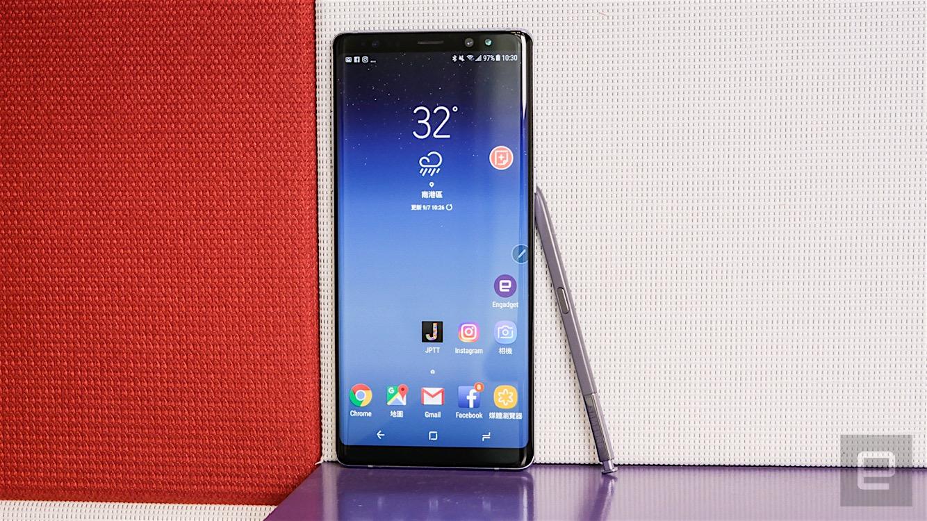 三星 Galaxy Note 8 評測:不將勇氣掛嘴上