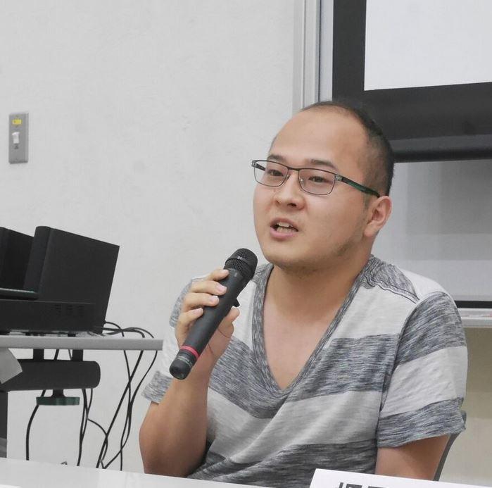 自身の経験について語る山田舜也さん