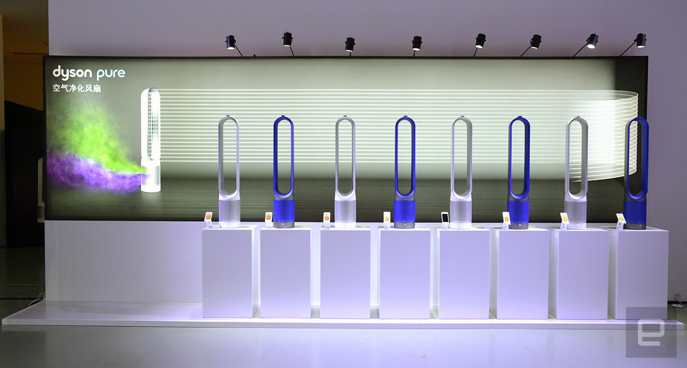 Dyson S Updated Air Purifiers Remove More Harmful Gases