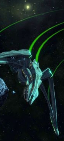 Credit is due for making all of the Romulan ships look right and still keeping them diverse.  That's not easy.
