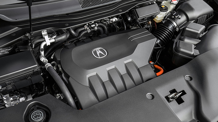 A Smoother Operator Acura MDX Sport Hybrid First Drive Autoblog - Acura mdx engine
