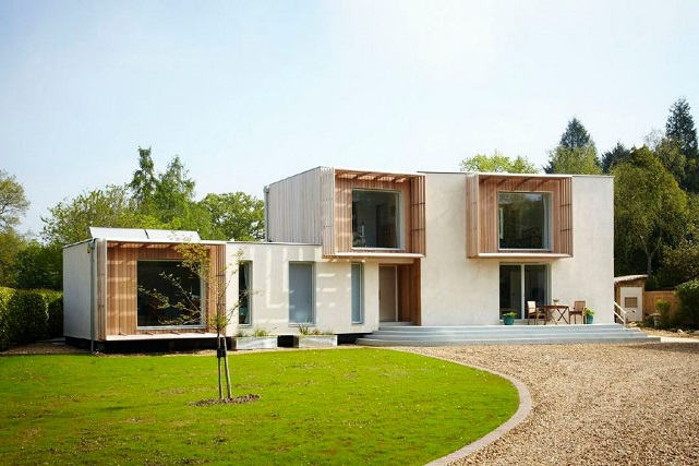 Facit prefab house exterior