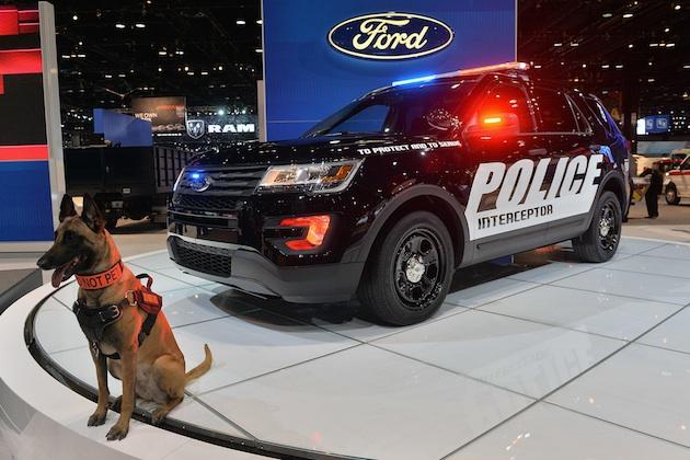 【シカゴオートショー2015】新型フォード「ポリス・インターセプター・ユーティリティ」