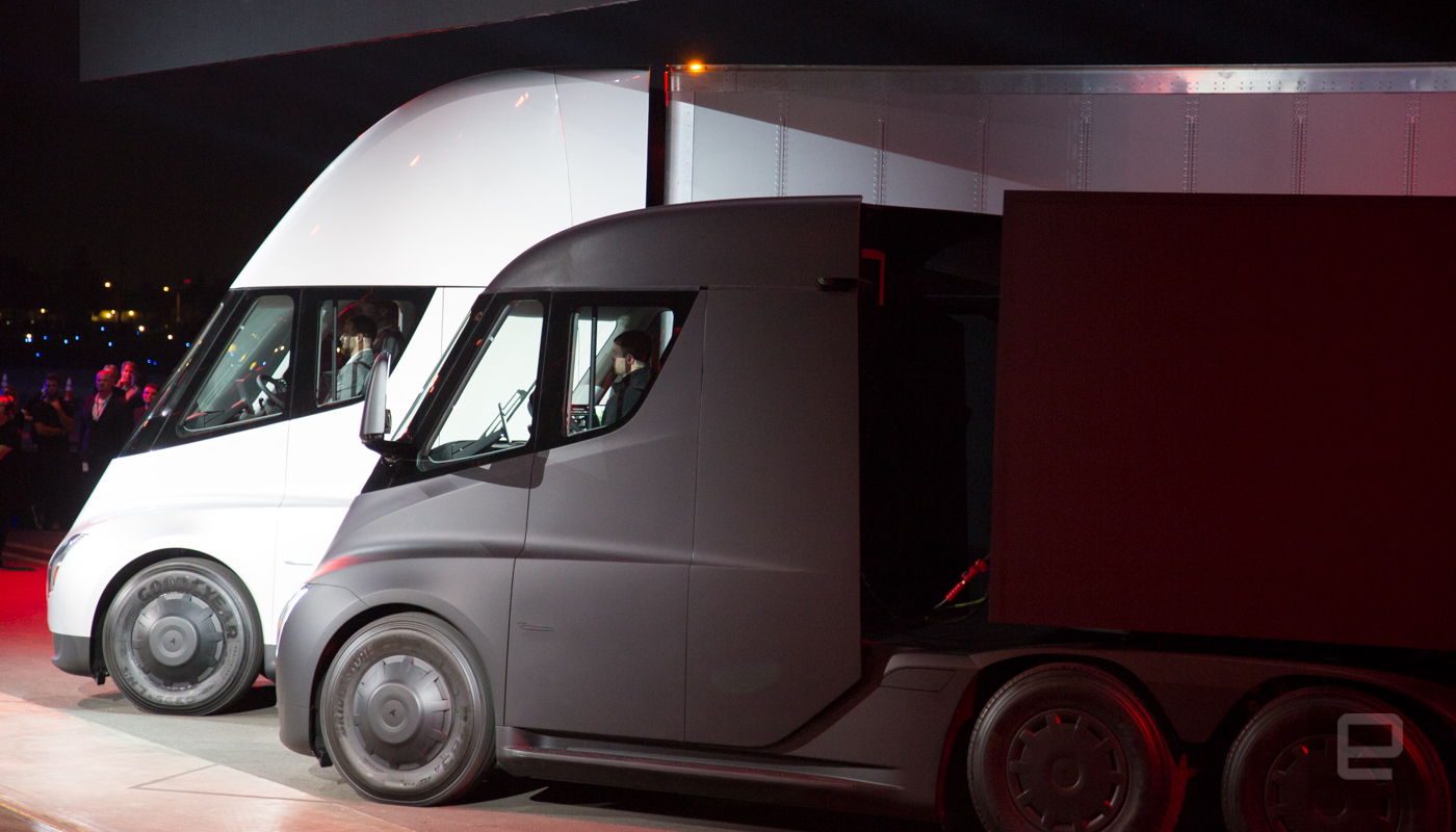 Tesla Unveils Its Vision Of The Future Of Trucking