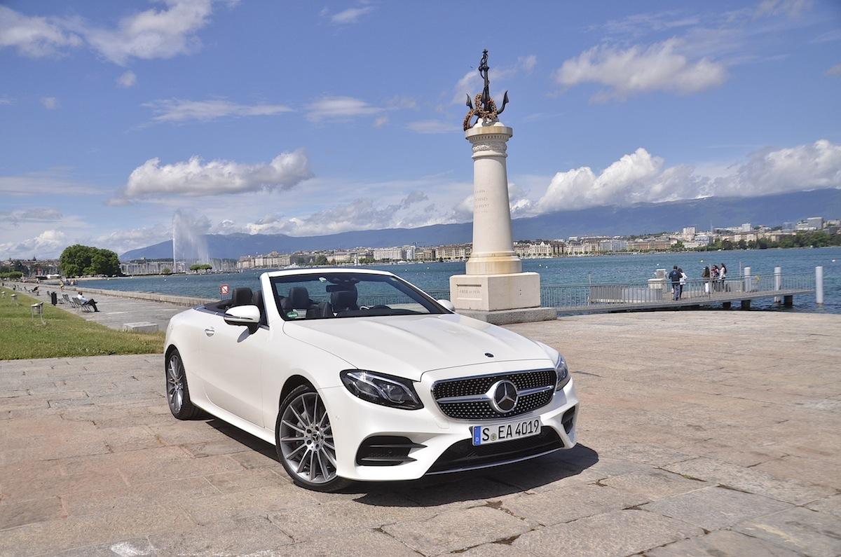 Mercedes-Benz Classe E Cabriolet 2018 : un regard sur le