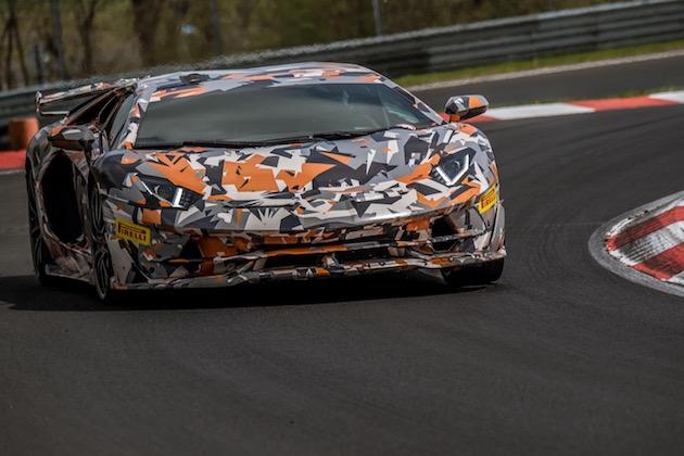 【ビデオ】ランボルギーニ、「アヴェンタドール SVJ」が塗り替えたニュルブルクリンク市販車最速ラップタイムと車載カメラ映像を発表!