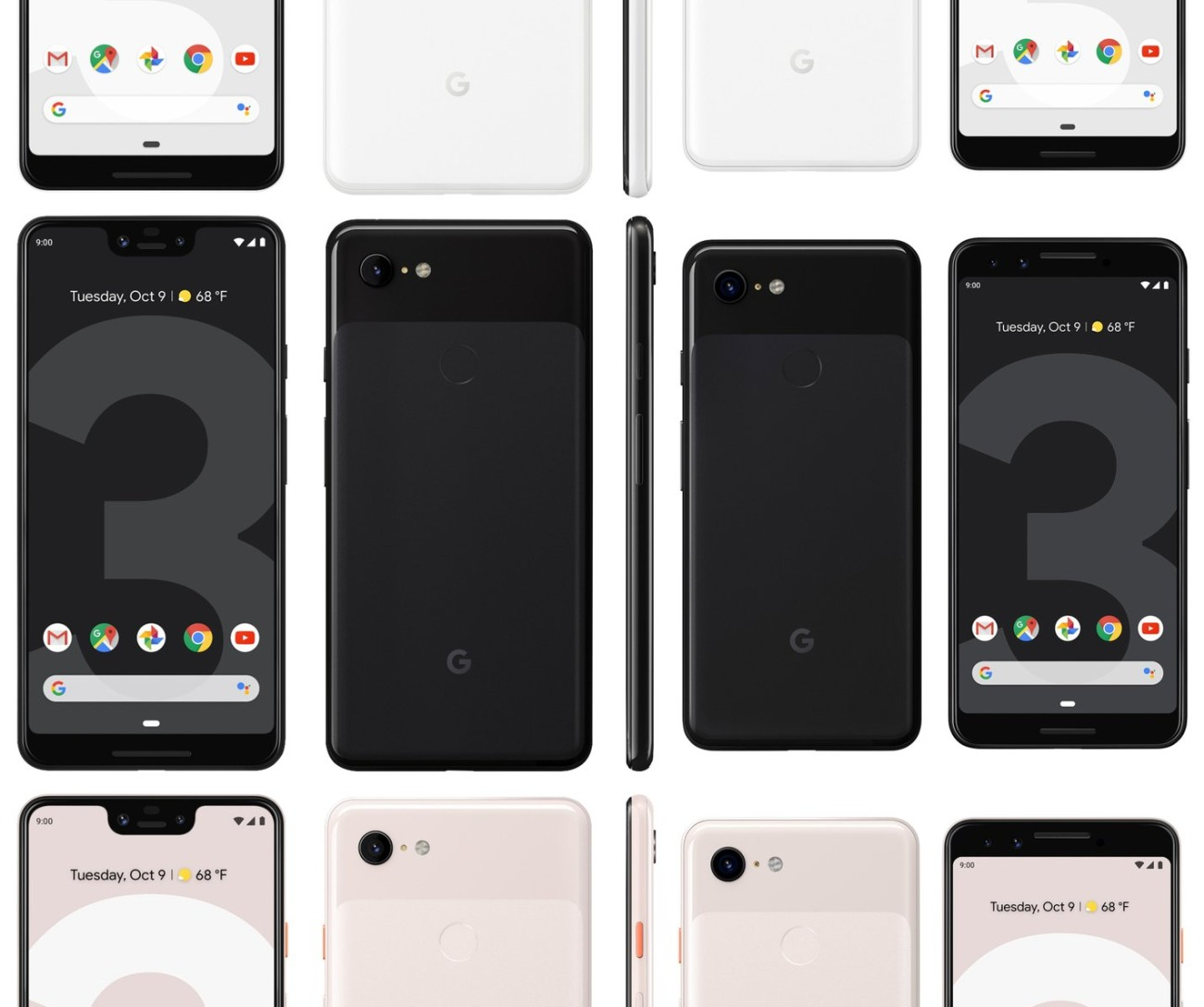 Pixel 3 and 3 XL launch: any surprises are on the inside