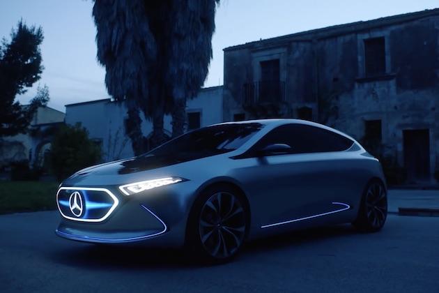 【ビデオ】メルセデス・ベンツ、「コンセプトEQA」がシチリアを駆け抜けるビデオを公開