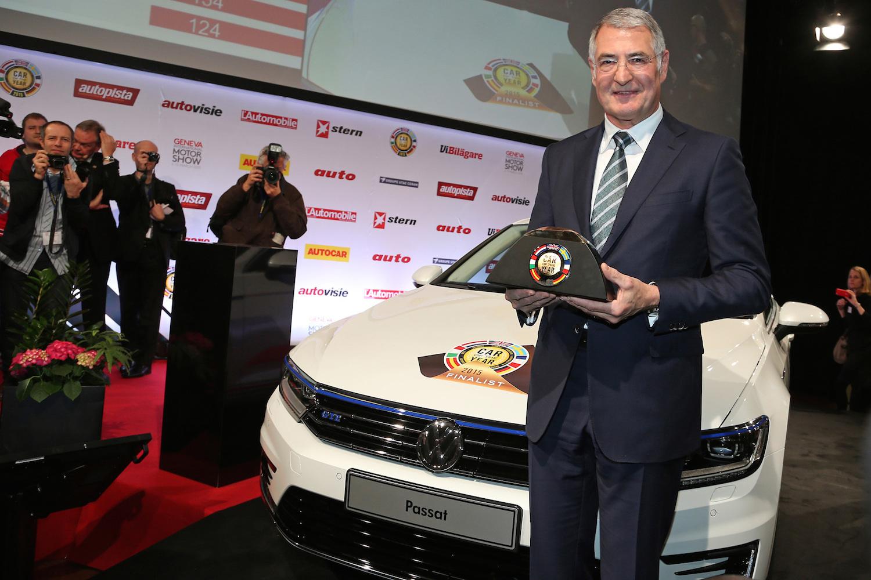 VolksWagen PASSAT Car Of The Year 2015 Geneva