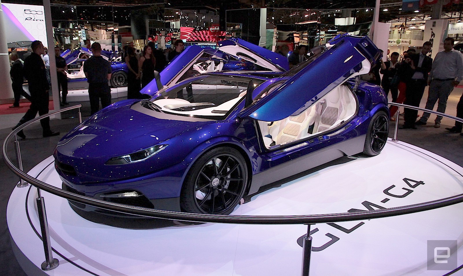 glm unveils its exotic electric g4 concept car. Black Bedroom Furniture Sets. Home Design Ideas