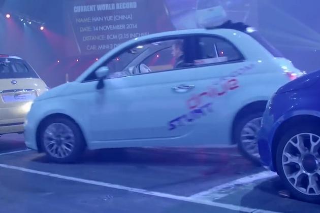 【ビデオ】神業ドリフトで縦列駐車のギネス世界記録を奪還!