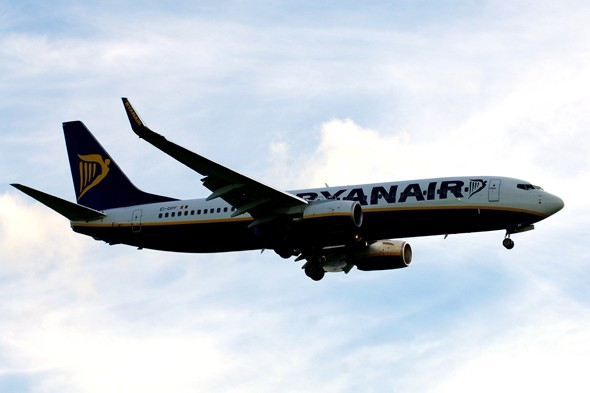 Ryanair plane carrying 148 passengers makes emergency landing in Majorca after 'fire on board'