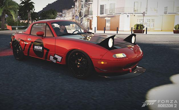 レーシングゲーム『Forza Horizon 2』で採用されるマツダ「ロードスター」のデザインコンテストが開催中!