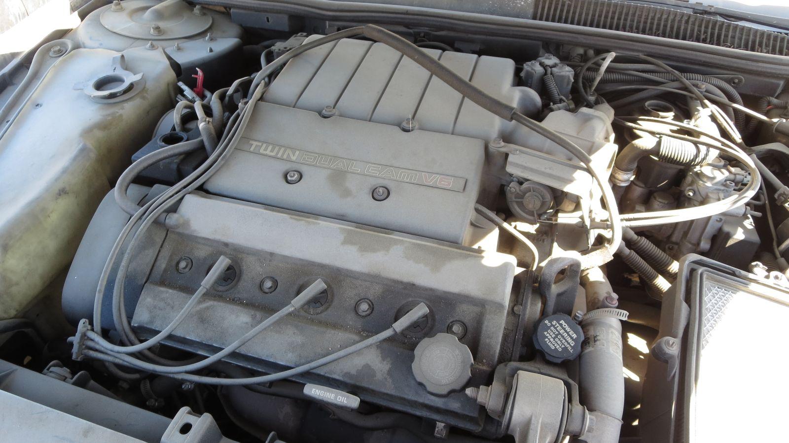 1992 Chevrolet Lumina Z34 in California junkyard