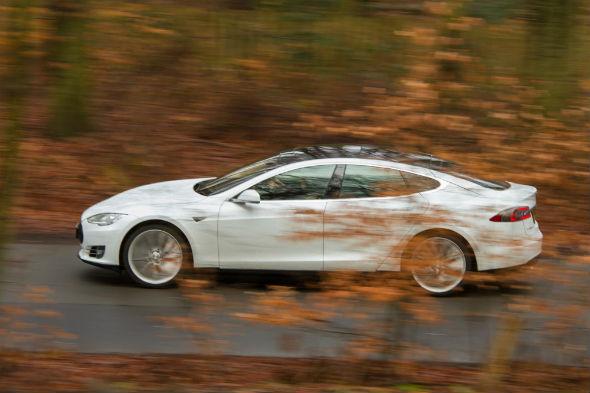 Tesla Model S road trip
