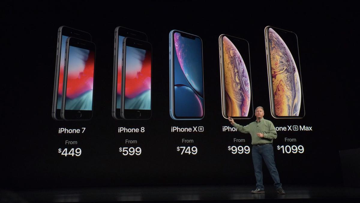 iPhoneのラインナップ