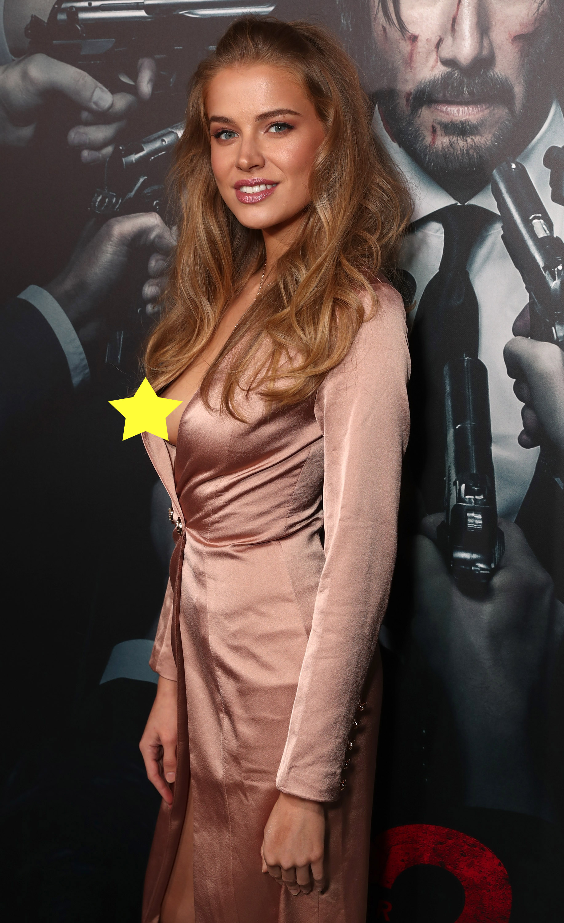 "HOLLYWOOD, CA - JANUARY 30:  Tanya Mityushina attends the Premiere Of Summit Entertainment's ""John Wick: Chapter Two at ArcLight Hollywood on January 30, 2017 in Hollywood, California.  (Photo by Todd Williamson/Getty Images)"