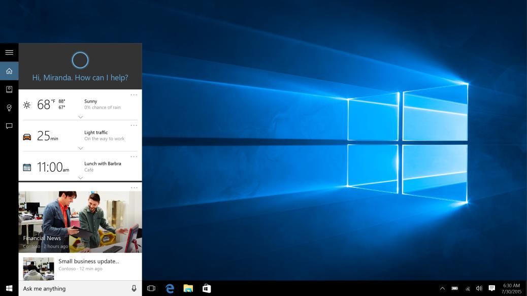 小娜(Cortana)不想讓你在 Windows 10 用 Google 搜尋,為了一些原因...