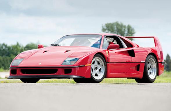 Rod Stewart Ferrari
