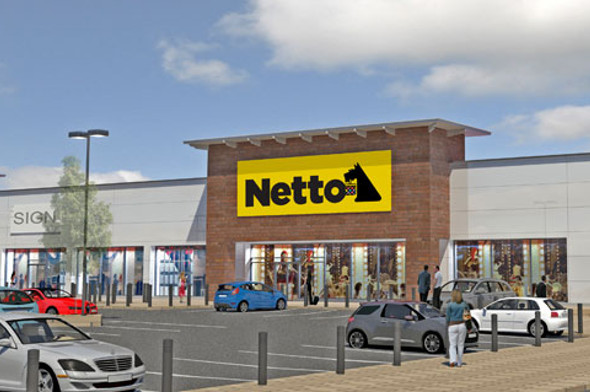 Artist's impression of new Netto store