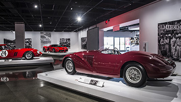 Petersen Ferrari 70th Anniversary Exhibit