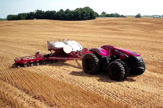 【ビデオ】農作業の効率を劇的に向上させる、完全自動運転トラクターが登場!
