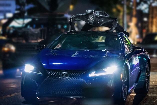 【ビデオ】新型レクサス「LC500」がマーベルの映画『Black Panther』でブラックパンサーと共演