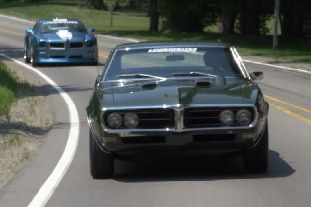 【ビデオ】1968年型と2010年型の新旧ポンティアック「ファイヤーバード」を徹底比較!