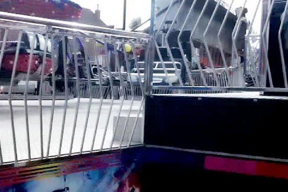 The fairground ride.