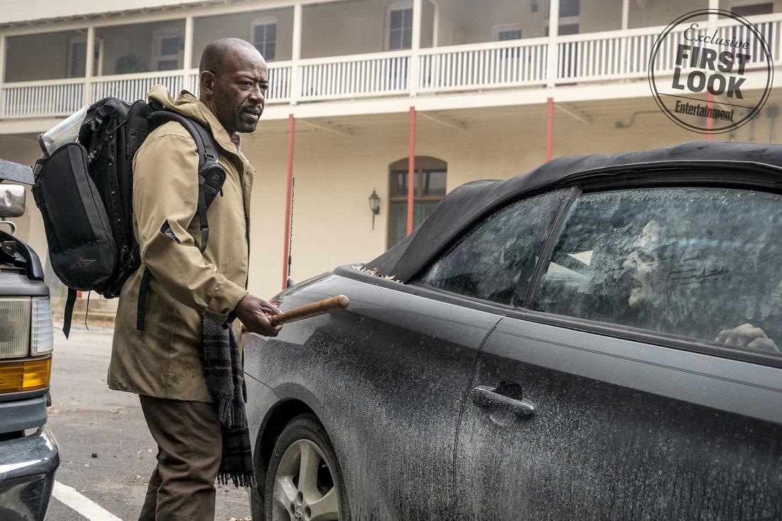 Fear The Walking Dead (2018)  Lennie James as Morgan Jones - Fear the Walking Dead _ Season 4, Episode 1 - Photo Credit: Richard Foreman, Jr/AMC