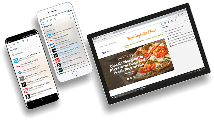 微軟的 Edge 瀏覽器開放 iOS 和 Android 手機公測了