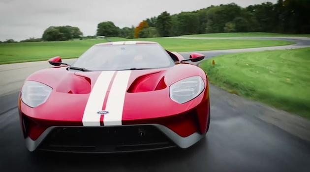 【ビデオ】フォード、モードによって表示が変わる新型「フォード GT」のデジタル・メーターパネルを映像で紹介
