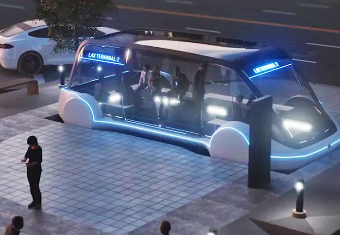 Elon Musk pitches 150 MPH rides in Boring Company tunnels for $1
