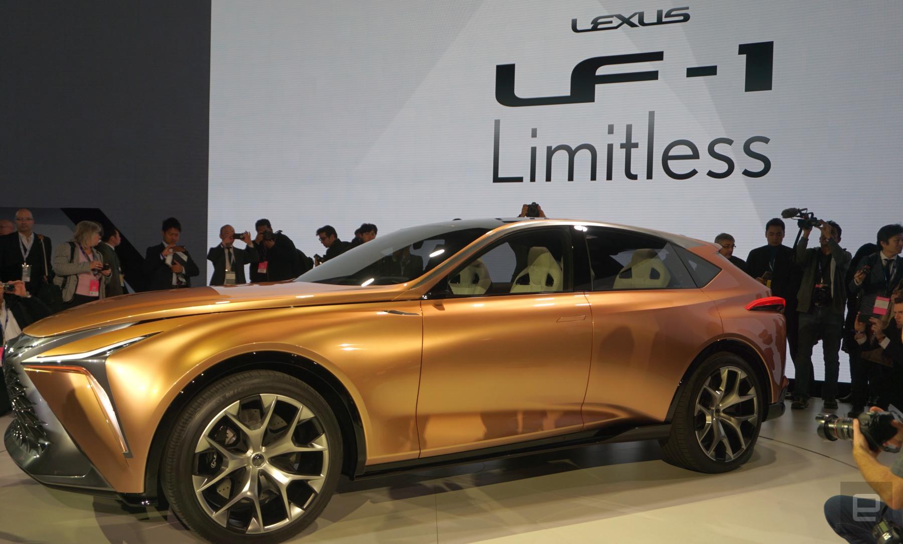 lexus lf 1 concept looks toward an electrified autonomous future. Black Bedroom Furniture Sets. Home Design Ideas