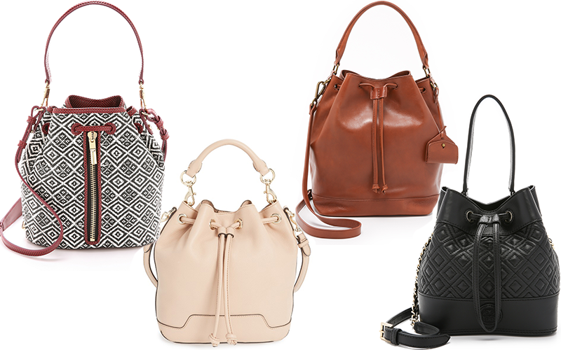 Bucket bags you need this fall