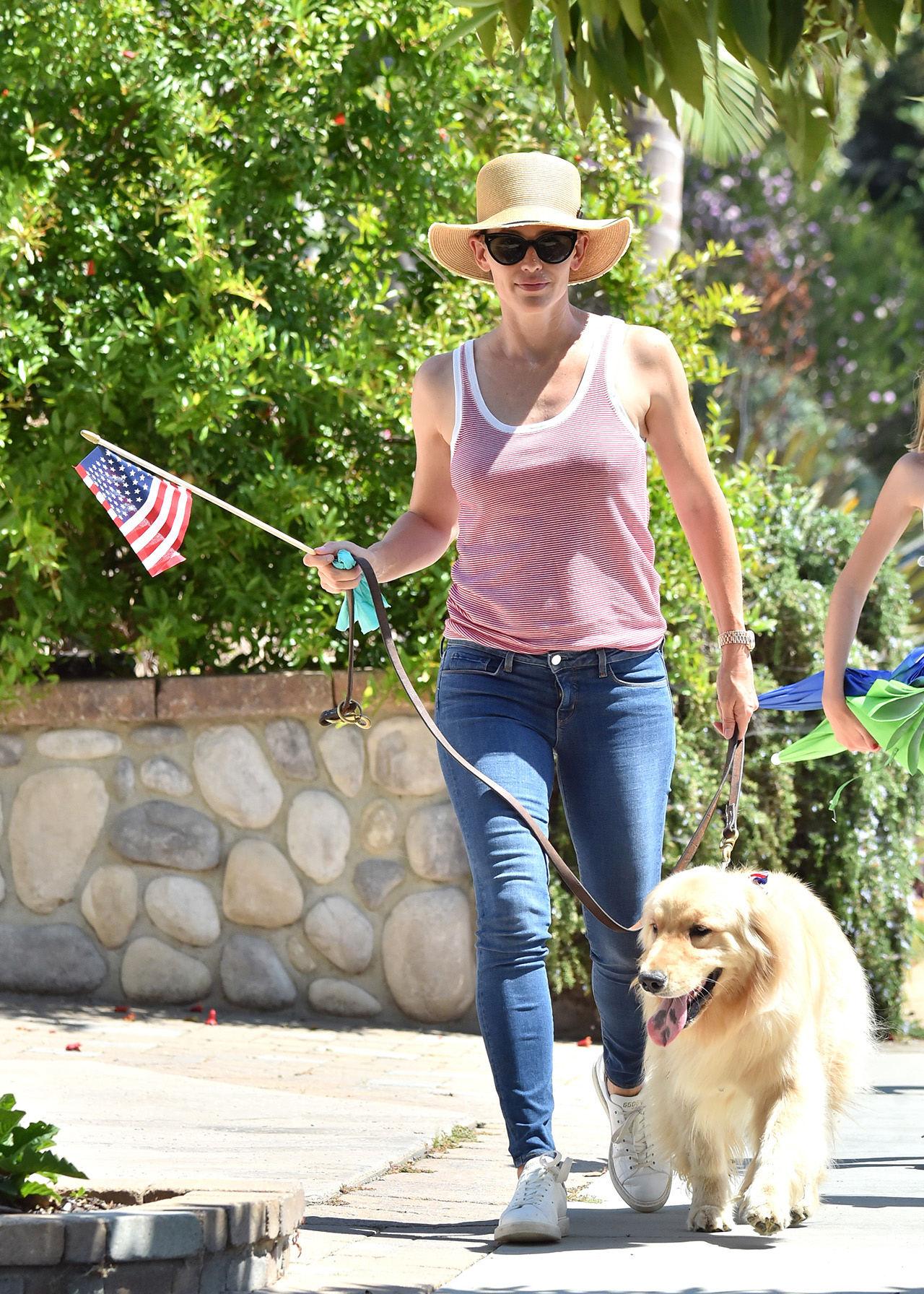 Ben Affleck and Jennifer garner take their kids to the annual Parade for 4th of July in Pacific Palisades, Los Angeles.  <P> Pictured: Jennifer Garner <B>Ref: SPL1532809  040717  </B><BR/> Picture by: Fern / Splash News<BR/> </P><P> <B>Splash News and Pictures</B><BR/> Los Angeles:310-821-2666<BR/> New York:212-619-2666<BR/> London:870-934-2666<BR/> photodesk@splashnews.com<BR/> </P>