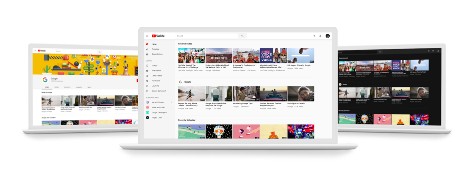 YouTube's big desktop redesign is now available to everyone