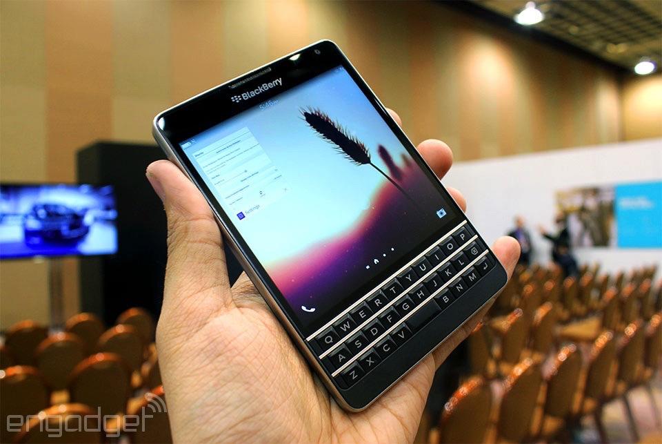 Blackberry Passport Classic