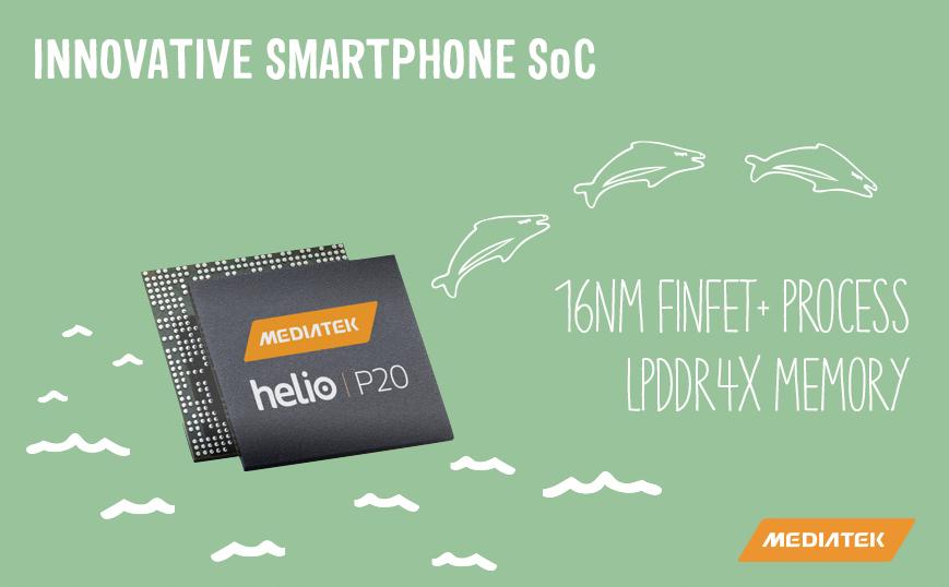 联发科 Helio P20 芯片登场:16nm 制程、支持 LPDDR4X
