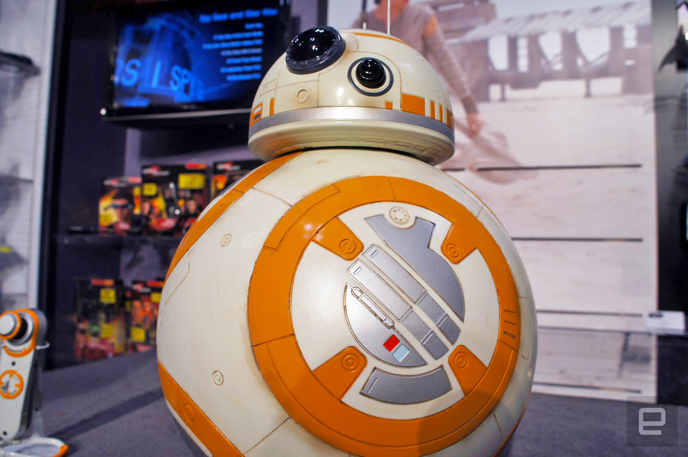 Spin Master's life-size BB-8 is too cute and too real