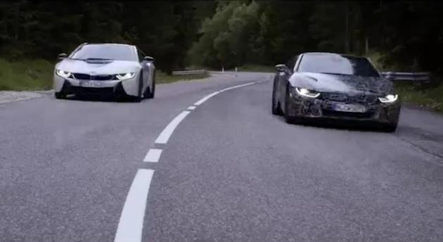 【ビデオ】BMW、「i8 ロードスター」の新たなティーザー映像を公開