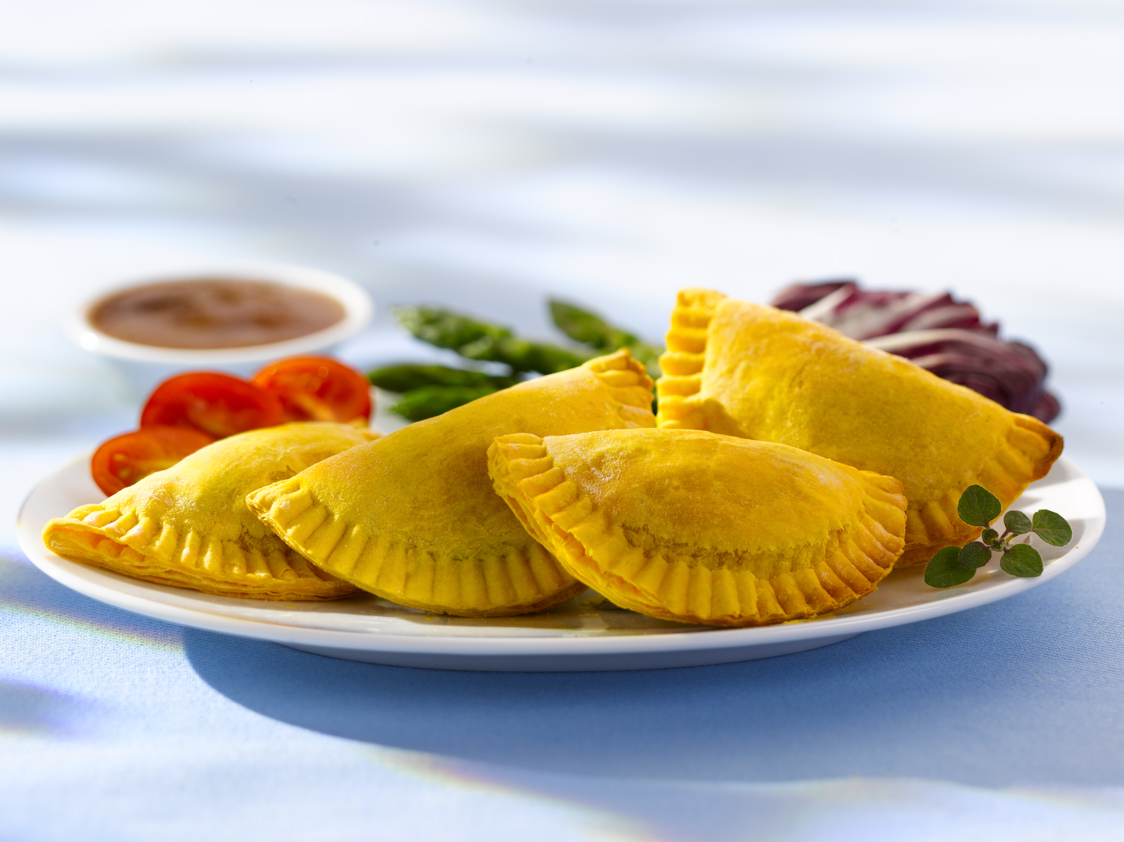A Jamaican patty from Toronto's Patty