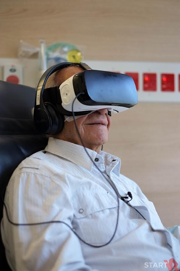 VR is being used as a form of 'distraction